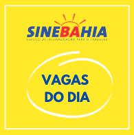 SineBahia - Vaga do dia