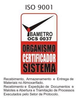 Certifica��o ISO 9001