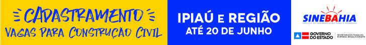 Vagas para Construção Civil em Ipiaú e região