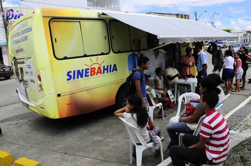 Unidade móvel do SineBahia estaciona em Cajazeiras amanhã