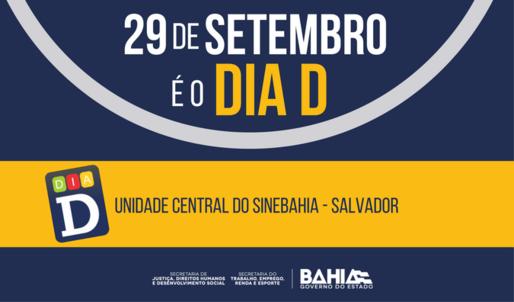 Dia D oferece cerca de 500 vagas de trabalho para PcDs em Salvador