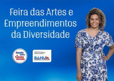 I Feira das Artes e Empreendimentos da Diversidade será realizada em Salvador