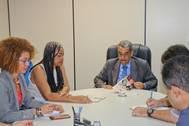 SJDHDS e Setre debatem novas parcerias para qualificação profissional