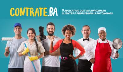 Contrate.Ba: Governo da Bahia lança aplicativo e portal gratuitos para trabalhadores autônomos