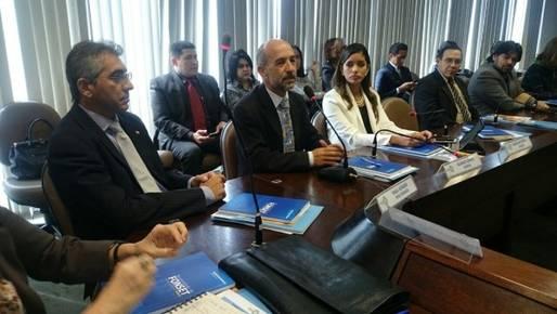 Presidido pelo secret�rio do Trabalho da Bahia, �lvaro Gomes, encontro abordou ainda outras quest�es importantes