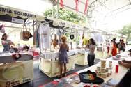 Feira de Economia Solidária reúne empreendedores baianos na 11ª Bienal da UNE