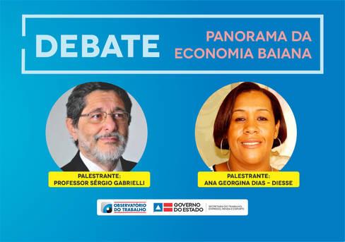 Panorama da Economia Baiana é tema de debate na Setre