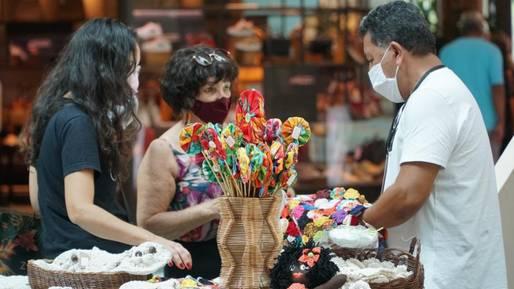 Feira Artesanato da Bahia acontece no Salvador Shopping