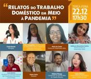 Debate virtual aborda os impactos da pandemia no trabalho doméstico