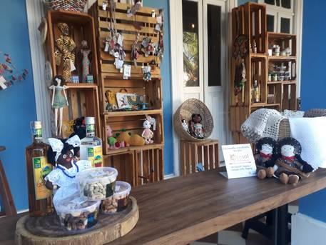 Cesol comercializa produtos no Santo Antônio Além do Carmo
