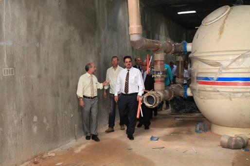 Secret�rio �lvaro Gomes recebeu Comiss�o de Desporto e Paradesporto da Assembleia Legislativa e explicou detalhes do equipamento aos deputados.
