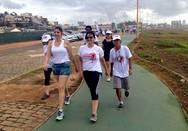 Caminhada Setre/PGE antecipa a chegada do Ver�o