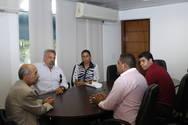 Lideran�as de Teixeira de Freitas solicitam apoio da Setre