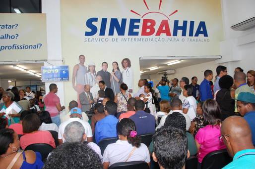 A��o do SineBahia em Salvador, Itabuna e Jequi� contabilizou 798 atendimentos durante Dia D.