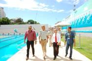 Crianças e jovens de BCS vão aprender a nadar na piscina da Bonocô