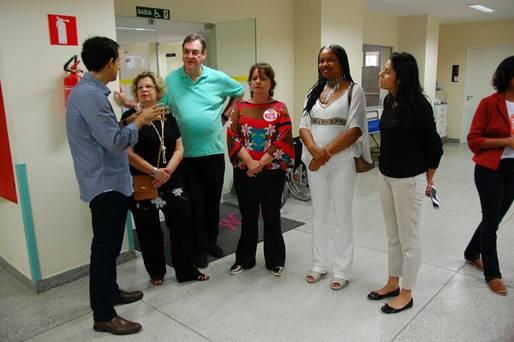 Representantes de organizações internacionais elogiam Hospital da Mulher
